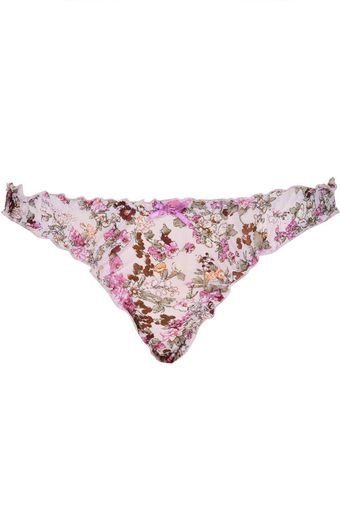 Topshop Hedgerow Floral Mini Knickers - Lyst