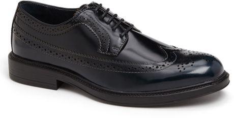 1901 Longwing Derby Shoe in Blue for Men (Navy