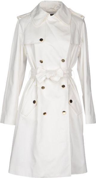 D&g Fulllength Jacket in White - Lyst
