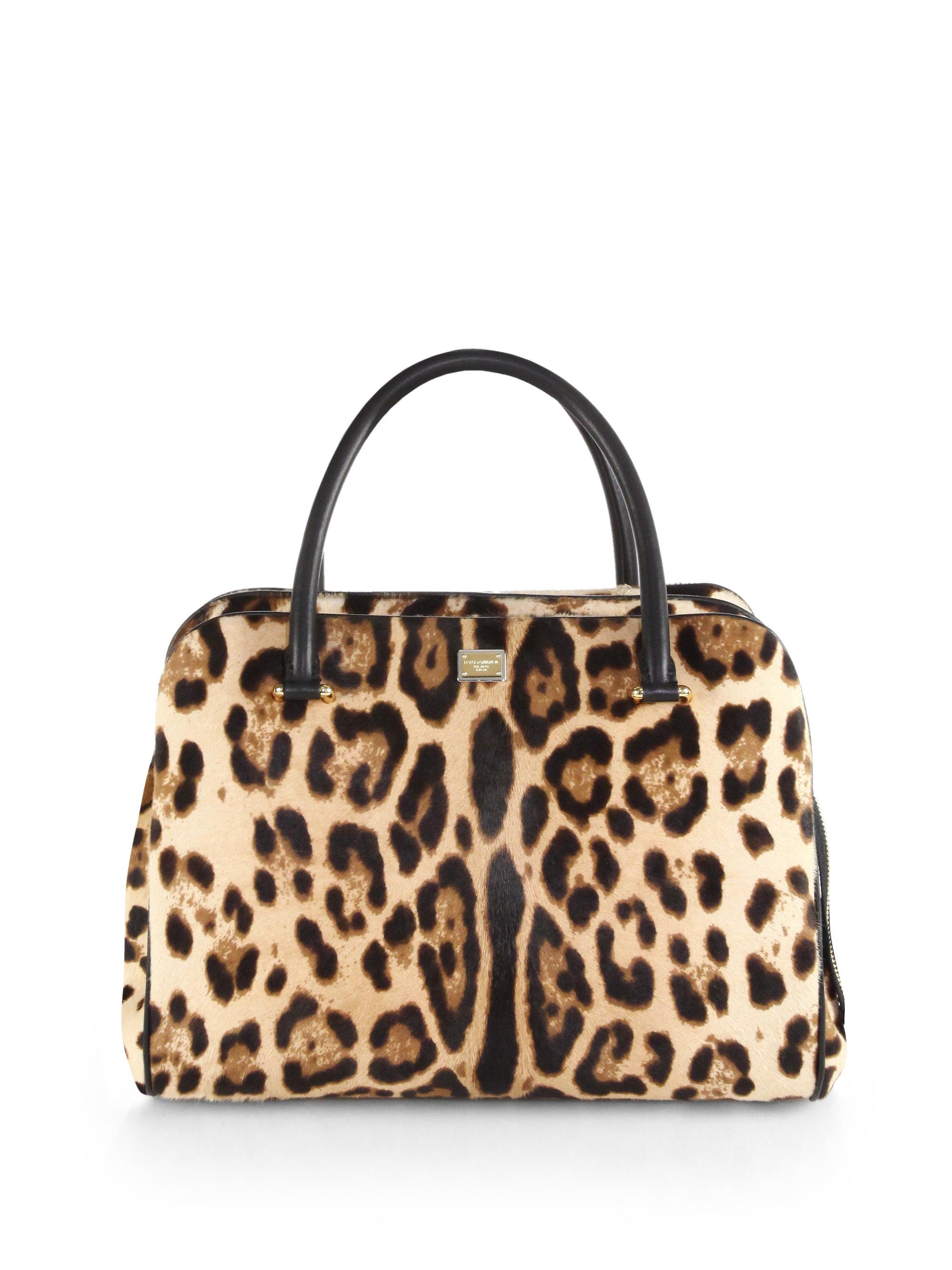 5190bcf17f9f Lyst - Dolce   Gabbana Lily Calf Hair Shoulder Bag