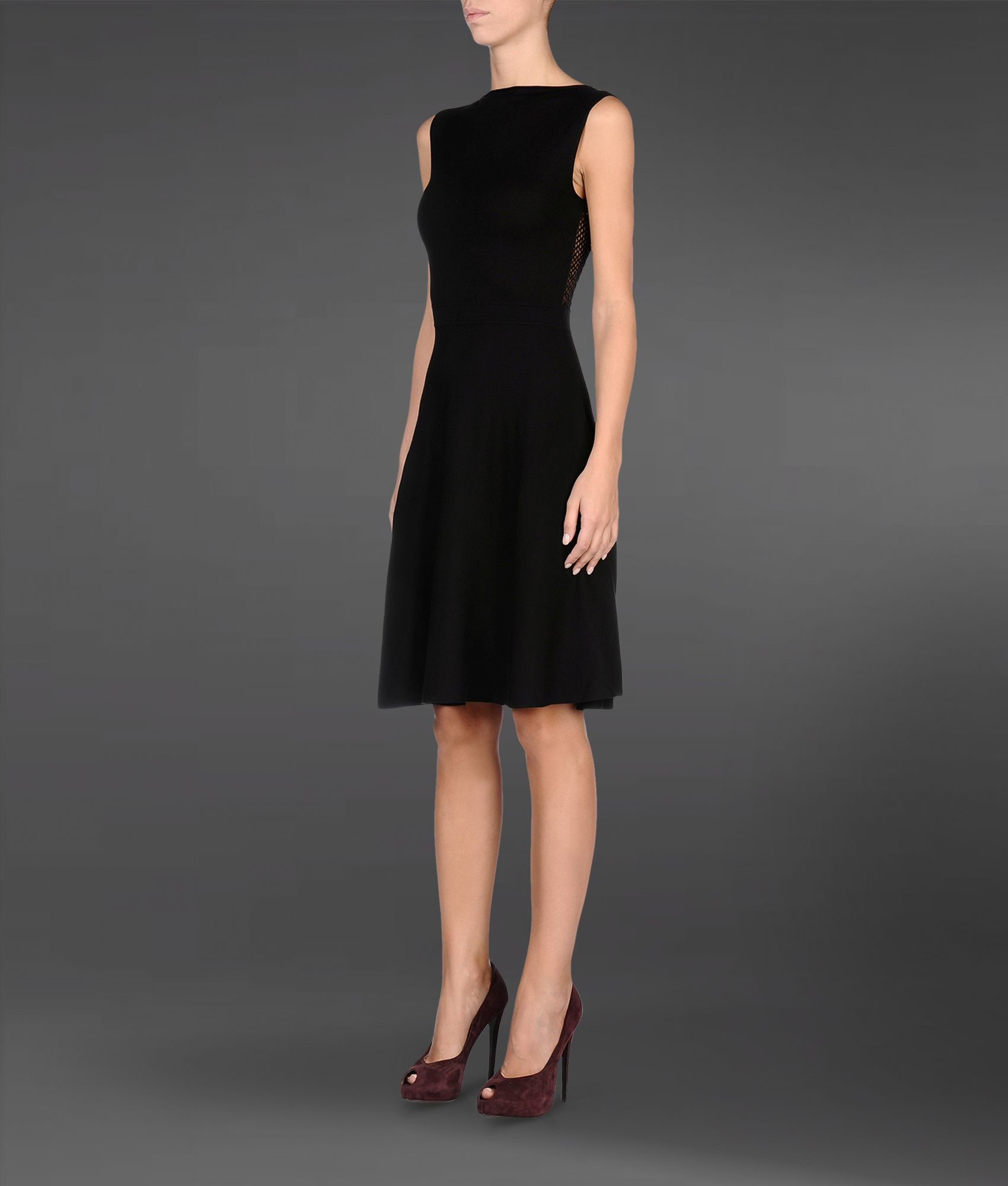 Lyst - Emporio Armani Short Dress in Black