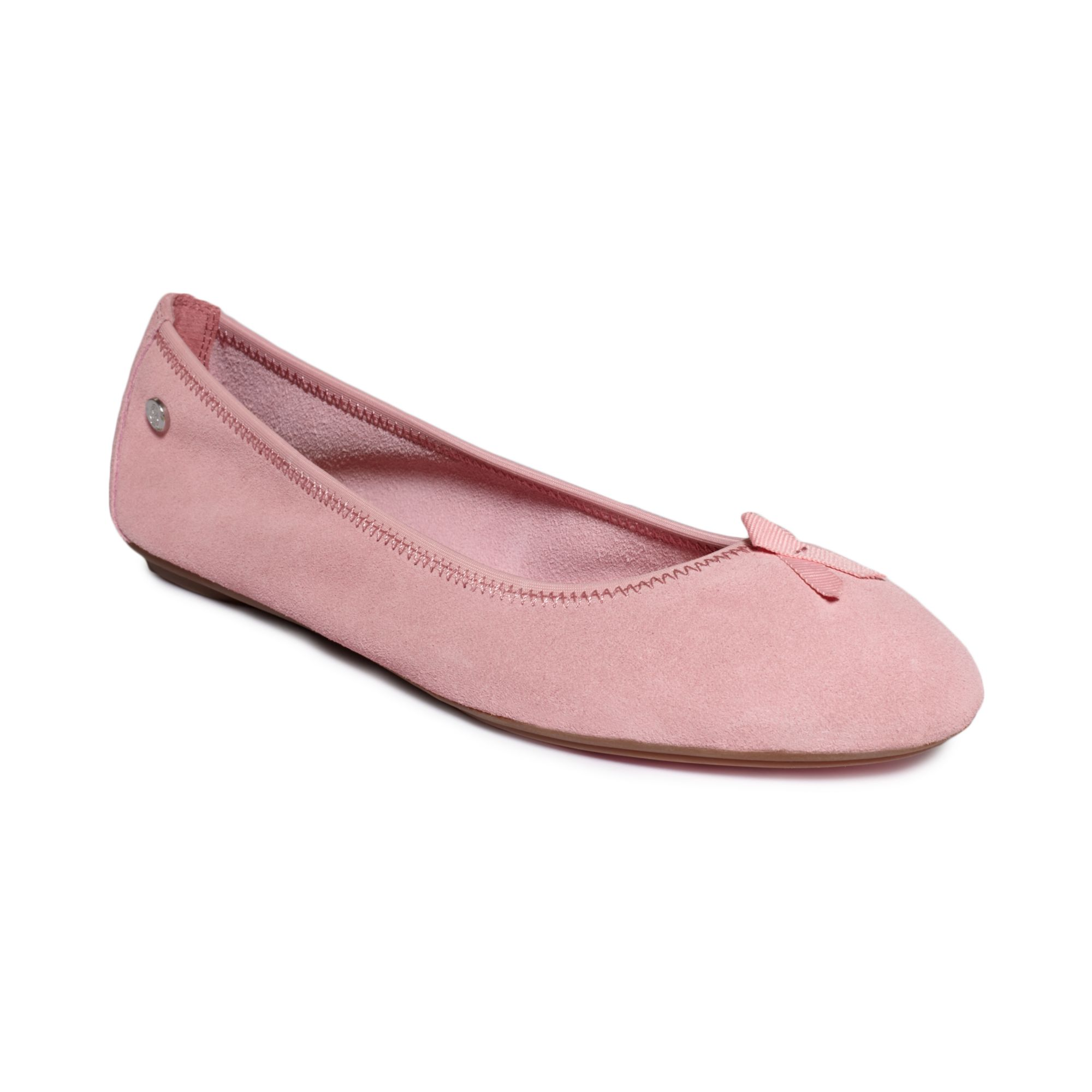 hush puppies chaste ballet flats in pink lyst