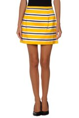 Michael Kors Mini Skirt - Lyst