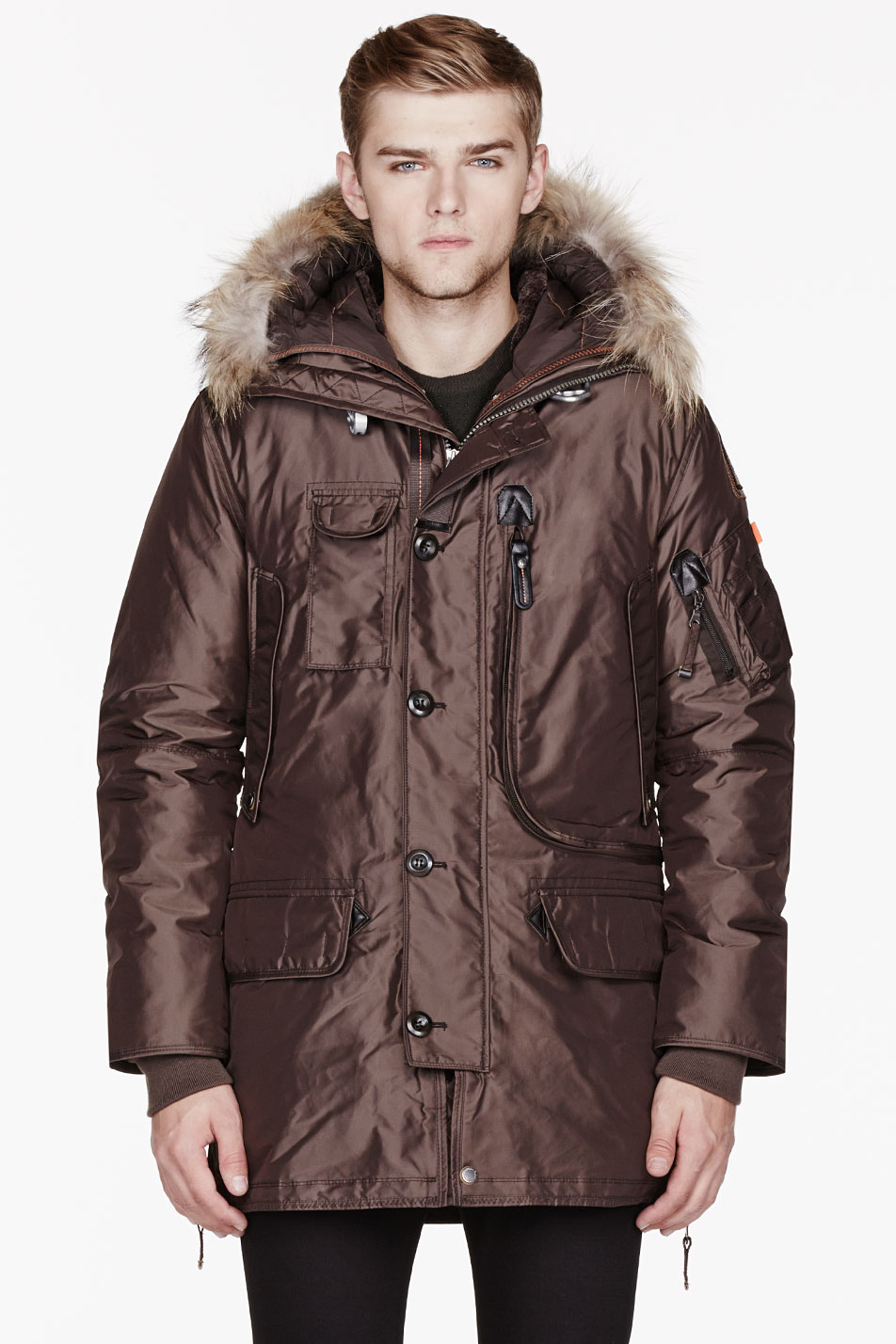 parajumpers JACKETS BROWN