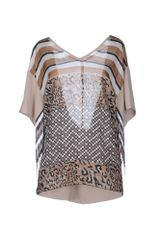 Pianurastudio Blouse - Lyst