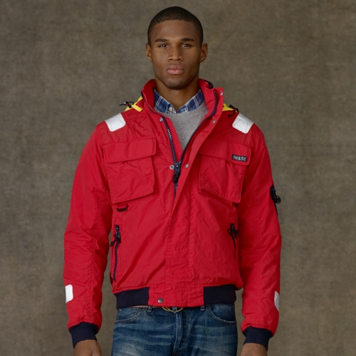 Lyst - Polo Ralph Lauren Southwald Sailing Jacket In Red -8093