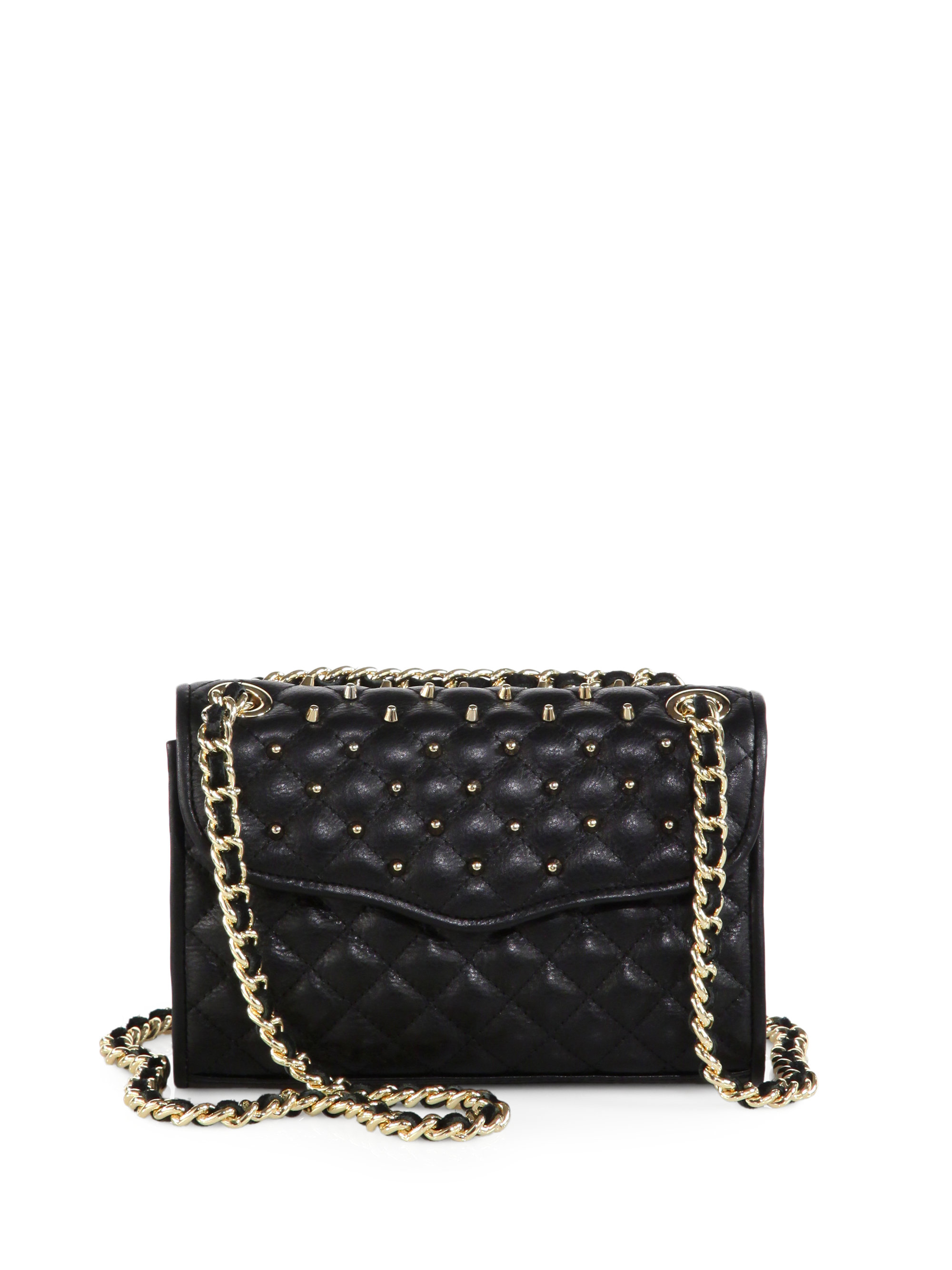 Rebecca Minkoff Mini Affair Studded Quilted Leather