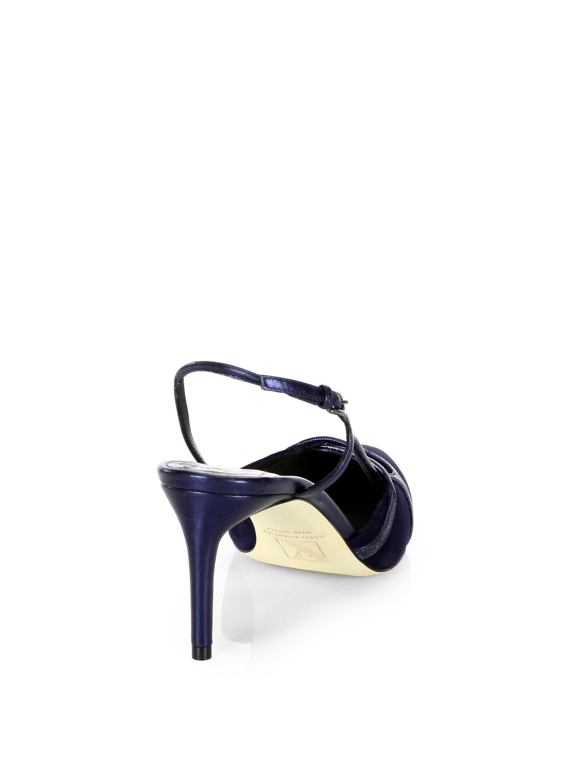 Reed Krakoff Leather Slingback Pumps clearance clearance clearance buy YZBsS2cE