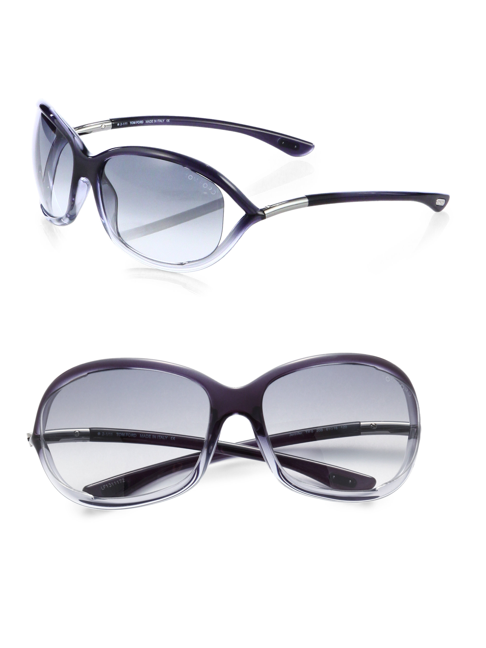 tom ford jennifer softwrap sunglasses in gray lyst. Cars Review. Best American Auto & Cars Review