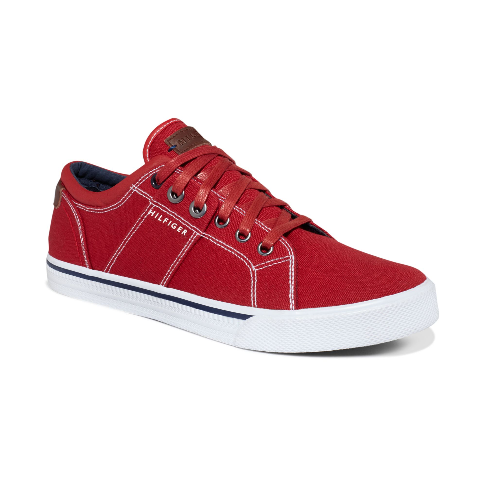 tommy hilfiger robbie2 sneakers in red for men lyst. Black Bedroom Furniture Sets. Home Design Ideas