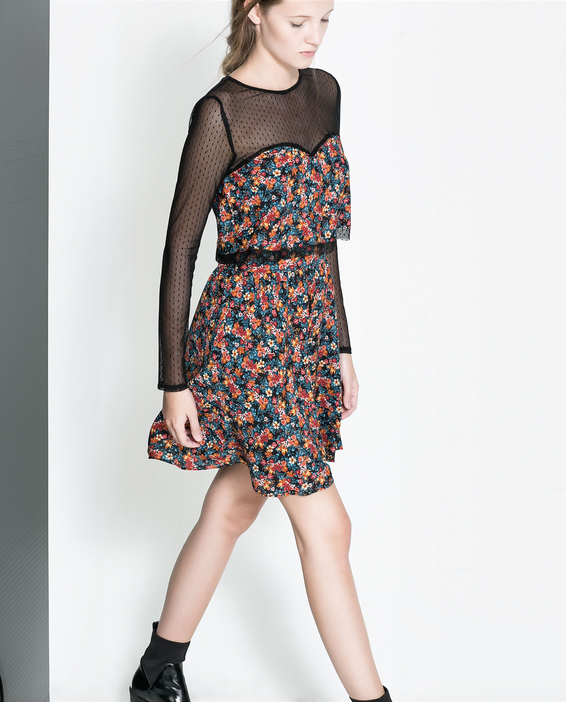 zara floral dress sold out