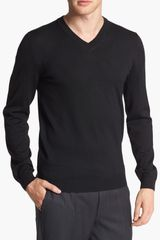 Boss by Hugo Boss Miles Merino Wool Sweater - Lyst