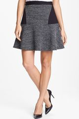 Halogen Tweed Ponte Knit Skirt - Lyst