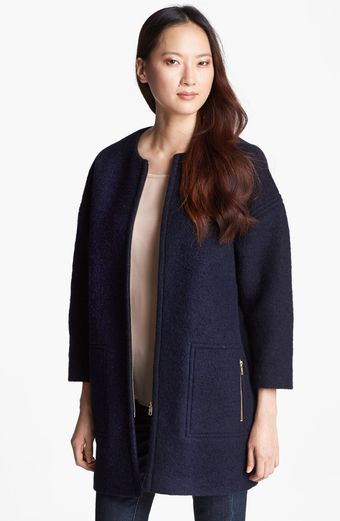 Helene Berman Wool Blend Coat - Lyst