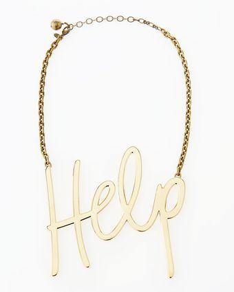 Lanvin Golden Help Necklace - Lyst