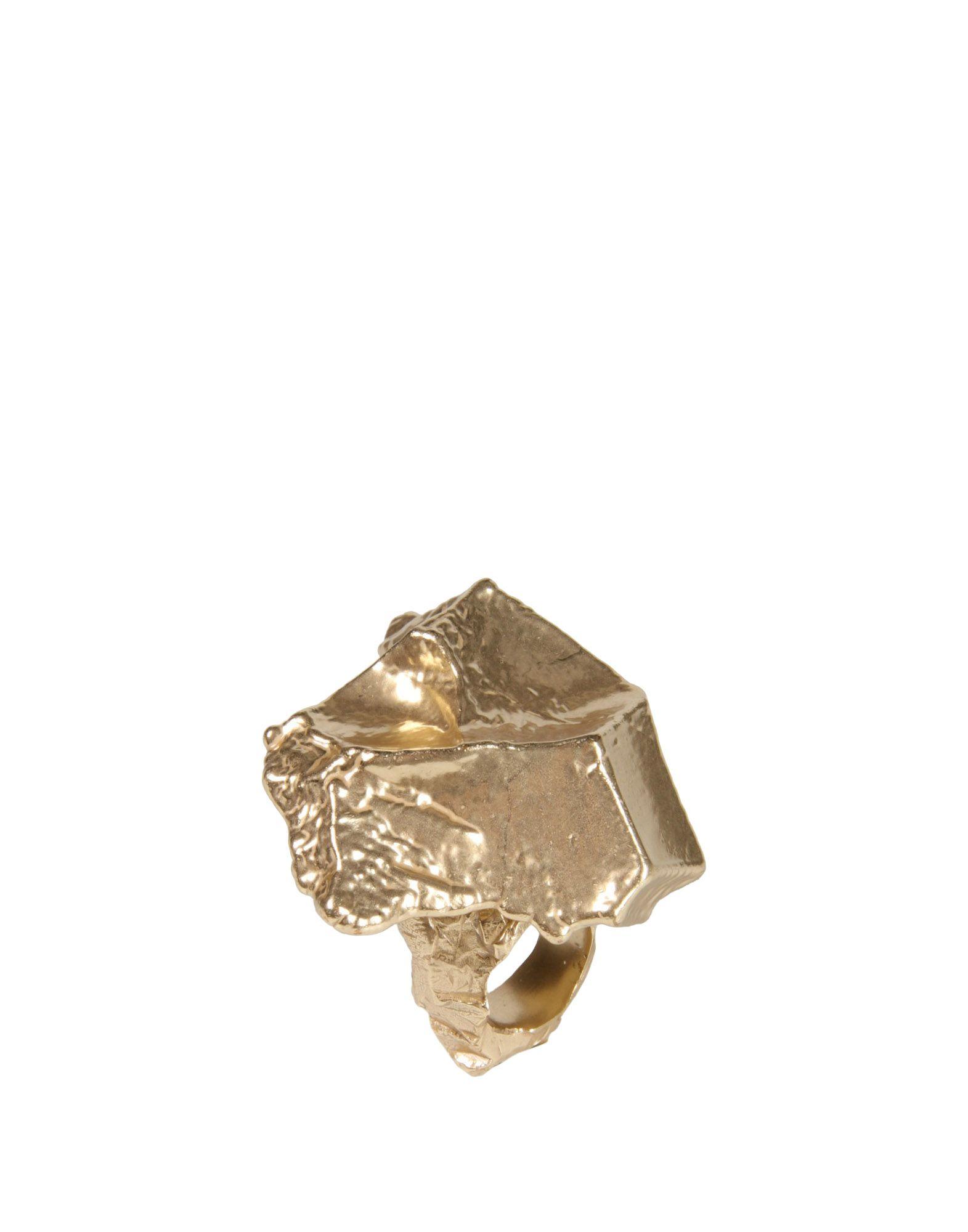 Lyst Maison Margiela Ring In Metallic