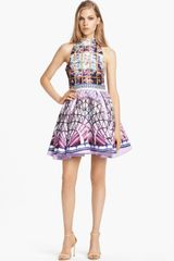 Mary Katrantzou Print Full Skirt Dress - Lyst