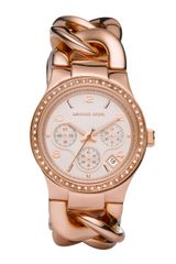 Michael Kors Rose Golden Runway Touch Of Glitz Watch - Lyst