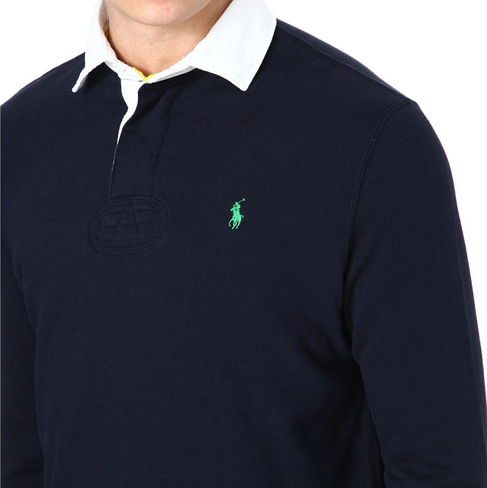 9a7af9356 ... order denmark ralph lauren rugby longsleeve polo shirt in blue for men  lyst 1257c 27378 0246f