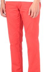 Ralph Lauren Hudson Slim Fit Chinos - Lyst