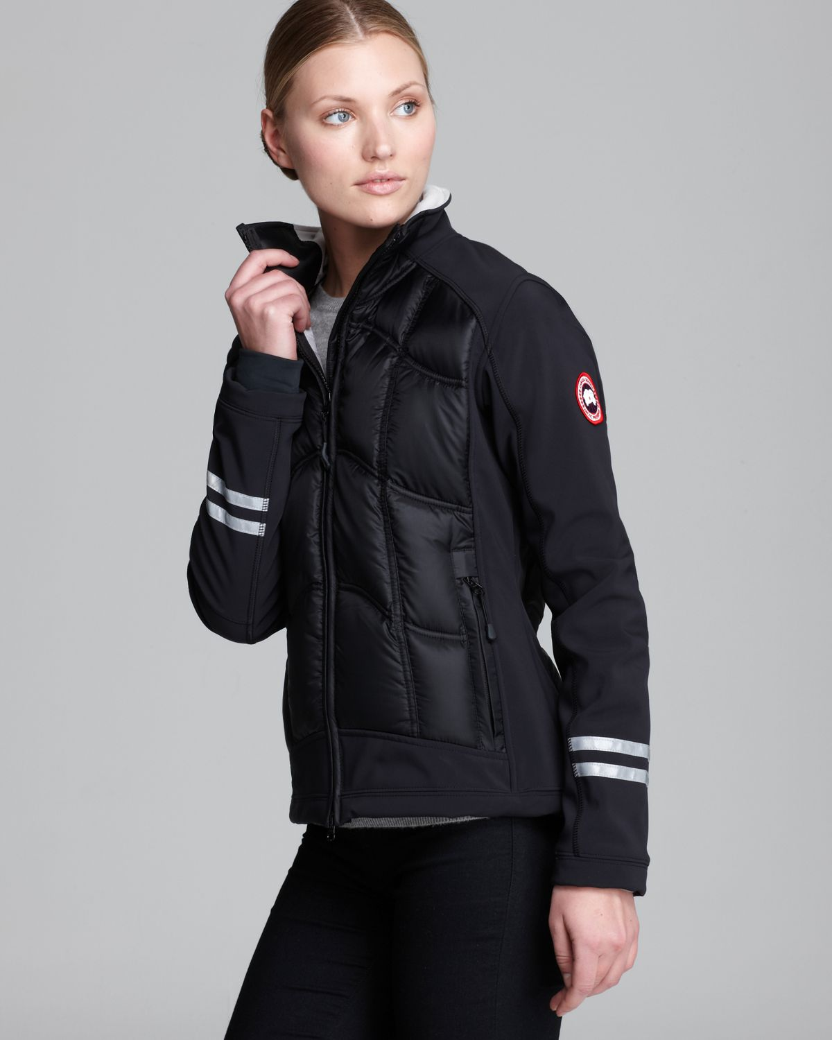 Canada goose Down Jacket Hybridge Lightweight in Black | Lyst