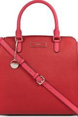 DKNY Saffiano Leather Tote - Lyst
