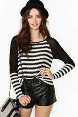 Nasty Gal Fragmented Knit - Lyst