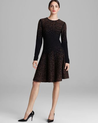 Rachel Roy Dotted Merino Sweater Dress - Lyst