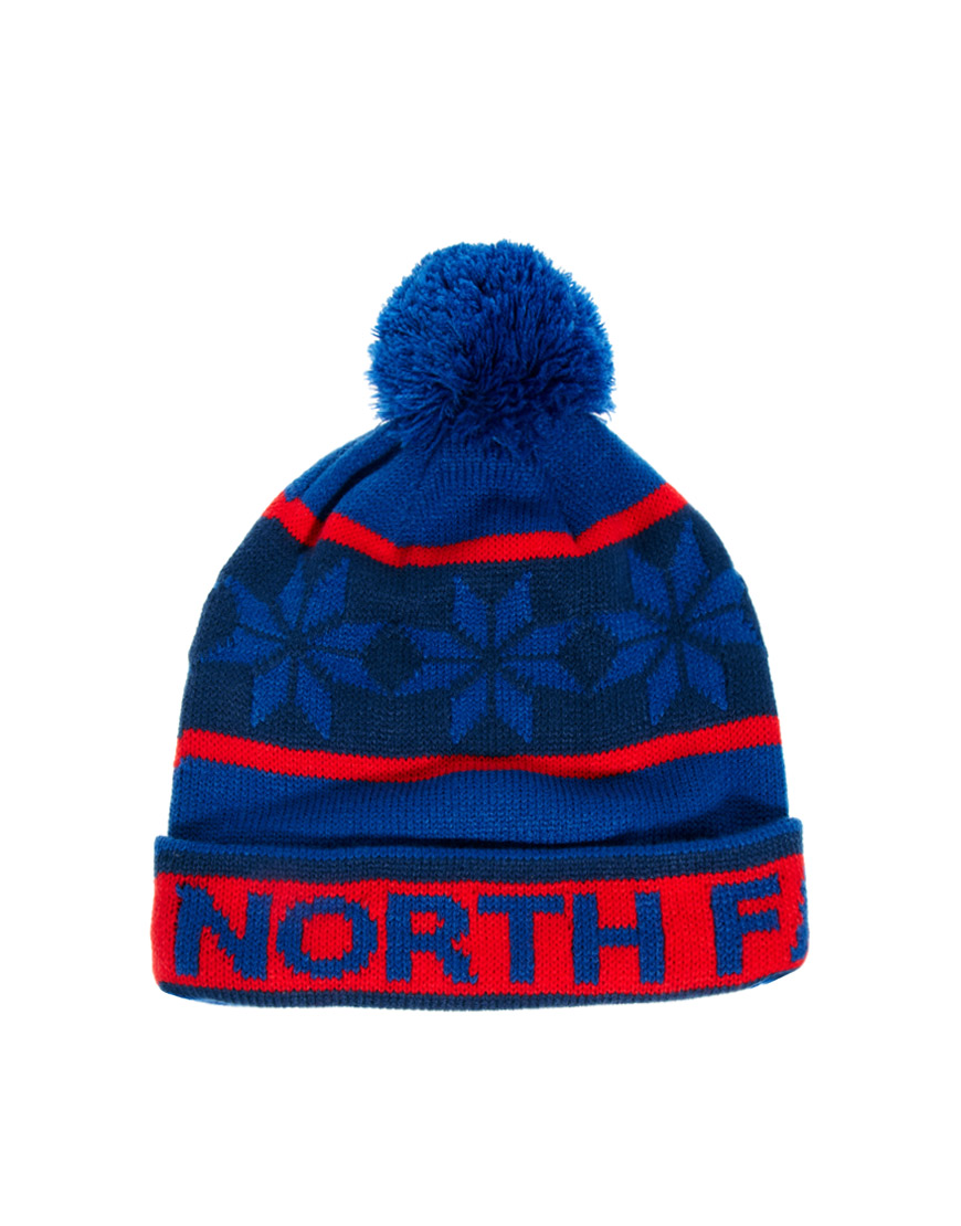 Lyst - The North Face Ski Beanie Hat in Blue for Men 921cf21f221