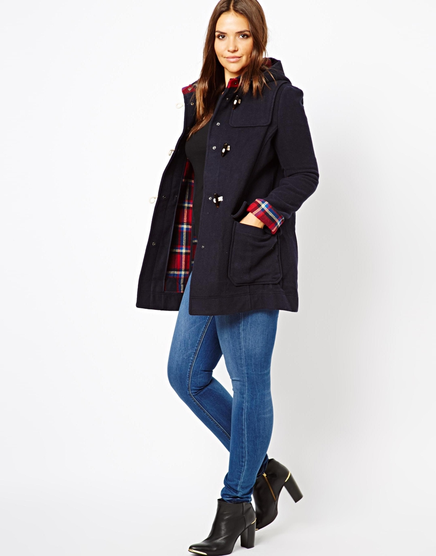 Navy Blue Duffle Coat