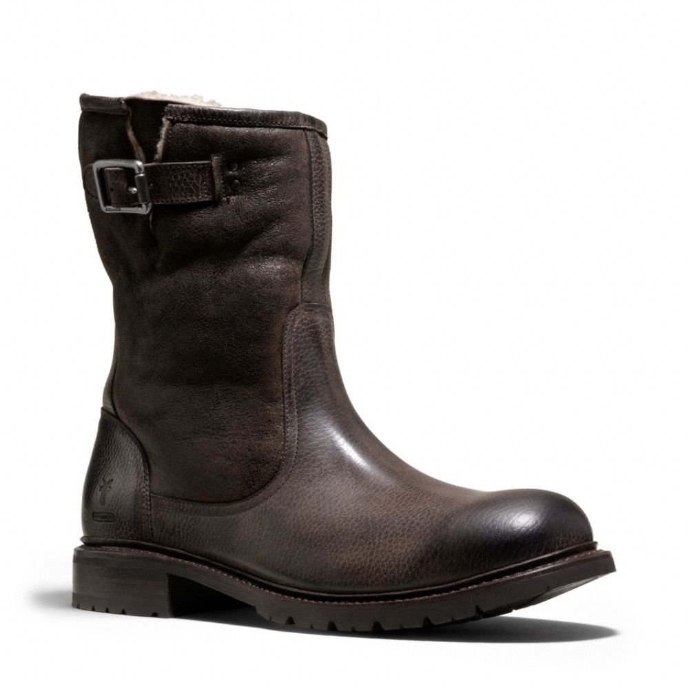 coach rogan boot in brown for brown lyst
