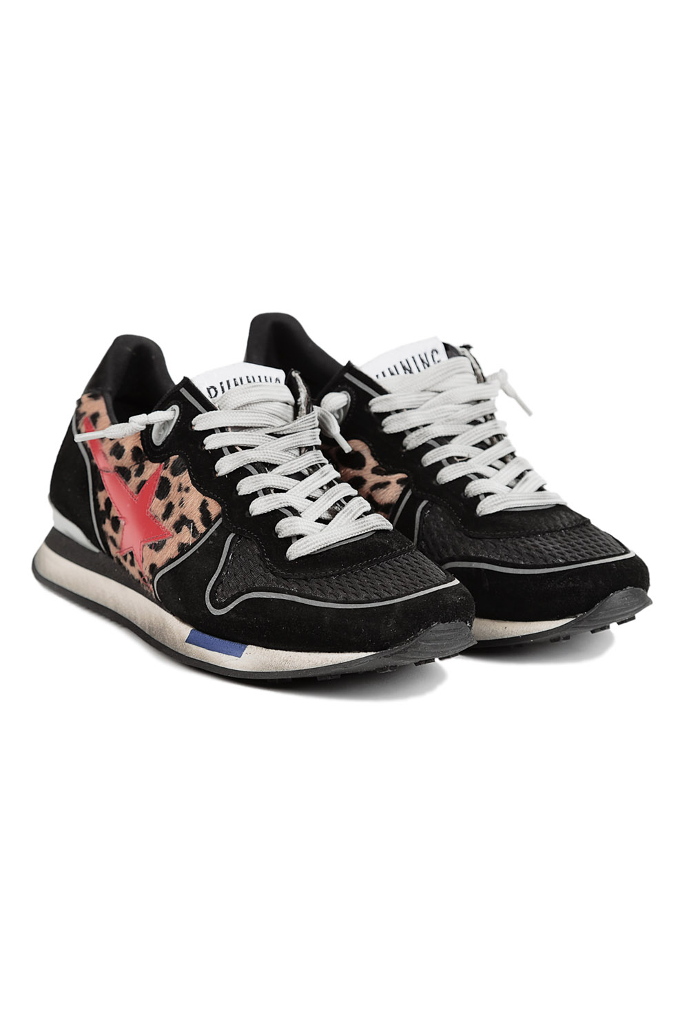 Golden Goose Deluxe Brand Running Shoe D7 in Black | Lyst