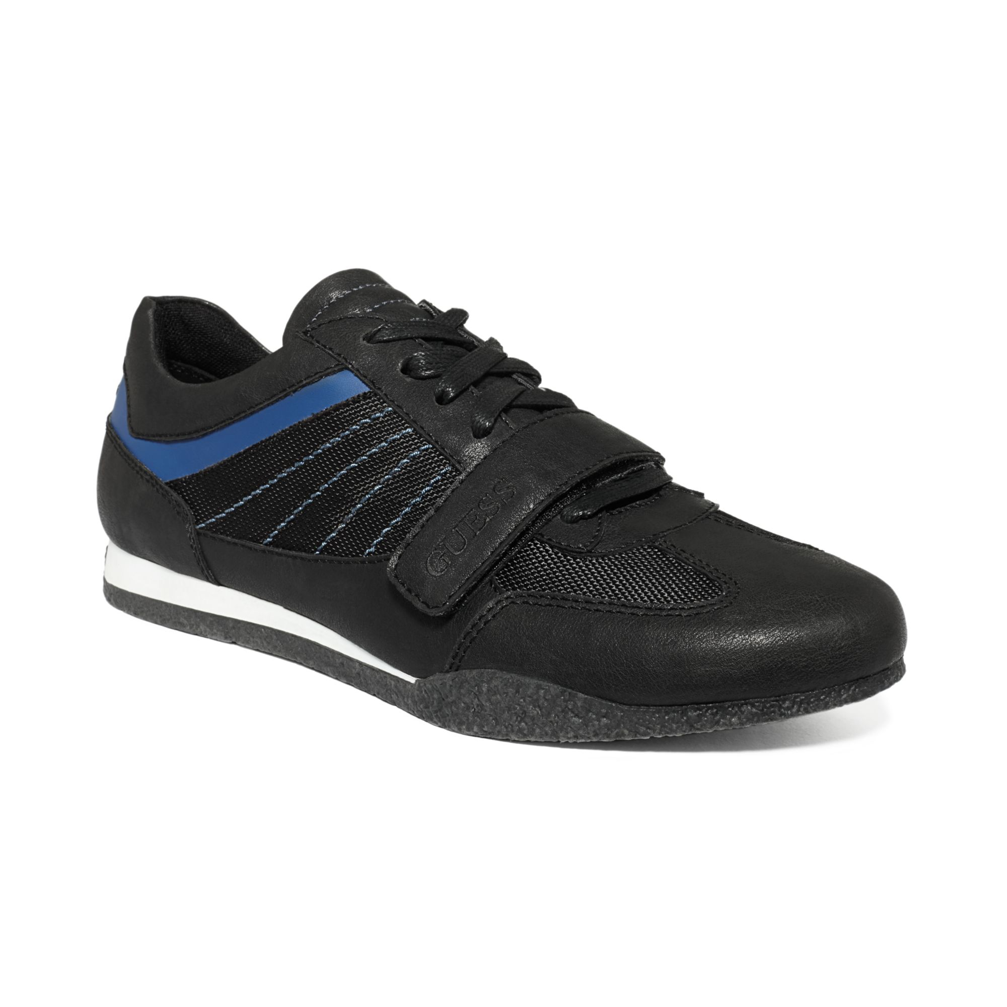 Guess Mens Shoes Arko3 Sneakers in Black for Men (Black/Blue