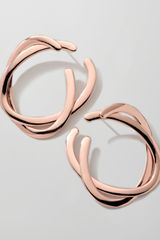 Ippolita Rose Vela Side Hoop Earrings - Lyst