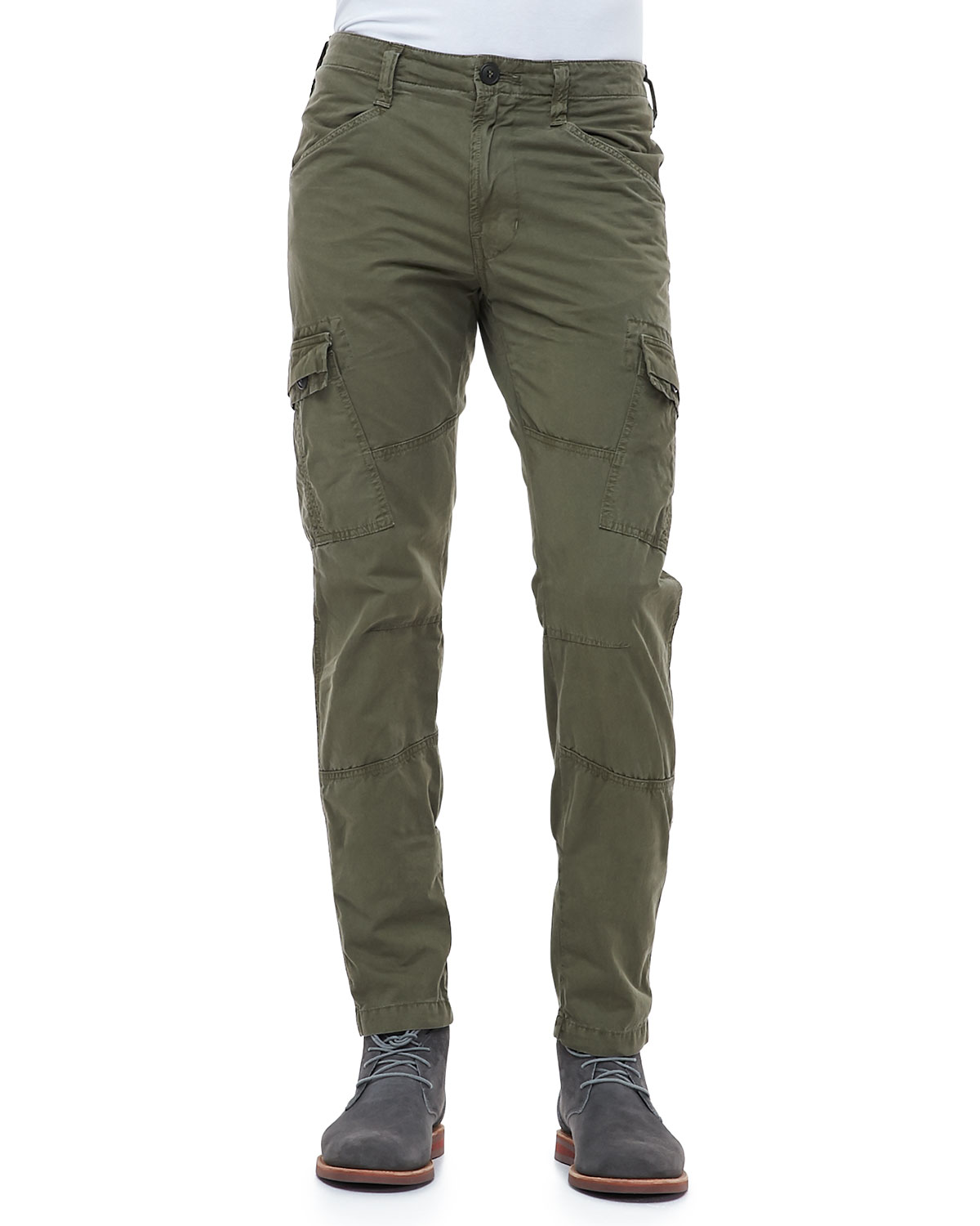 J brand Trooper Garmentdyed Cargo Pants in Green for Men | Lyst