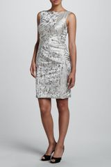 J. Mendel Abstract Printed Dress - Lyst