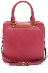 Marc By Marc Jacobs Leather Trapeze Tote - Lyst