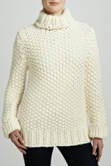 Michael Kors Chunkyknit Turtleneck Sweater - Lyst
