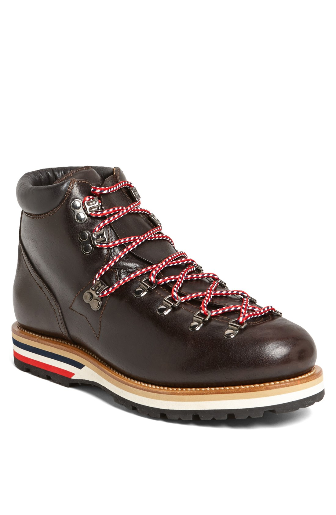 moncler matterhorn hiking boot in brown for