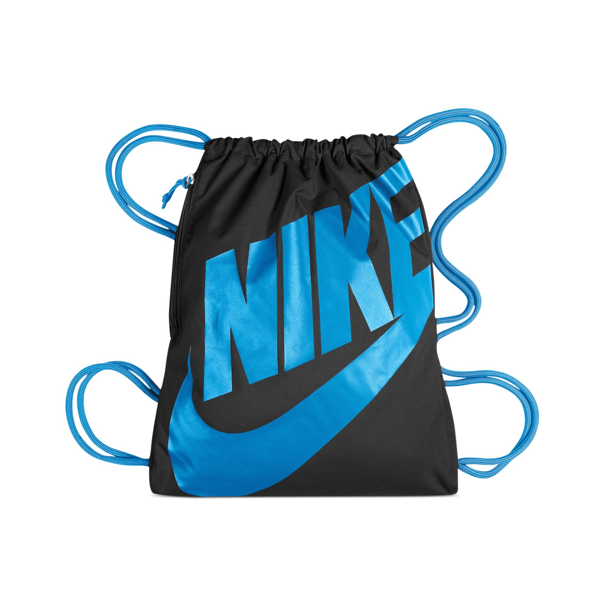 Lyst - Nike Heritage Gymsack in Blue for Men f8fee24d7a20c