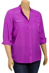 Old Navy Plus Chiffon Shirts - Lyst