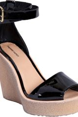Pierre Hardy One Band Wedge Sandal - Lyst