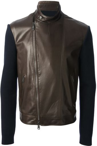 Ralph Lauren Leather Jacket - Lyst