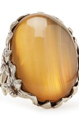 Stephen Dweck Natural Agate Delphinium Ring - Lyst