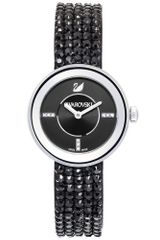 Swarovski Womens Swiss Piazza Mini Jet Crystal Mesh Bracelet 30mm - Lyst