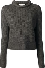 3.1 Phillip Lim Textured Wool Blend Sweater - Lyst