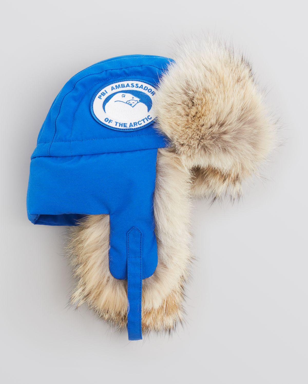 91a3ac17bb1 Lyst - Canada Goose Pbi Ambassador Aviator Hat in Blue for Men