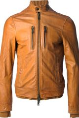 DSquared2 Layered Biker Jacket - Lyst