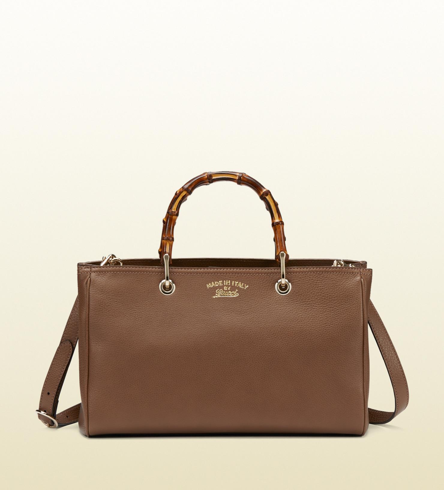 da1616c54421 Lyst gucci bamboo shopper leather tote in brown jpg 1480x1632 Aliexpress  gucci handbags