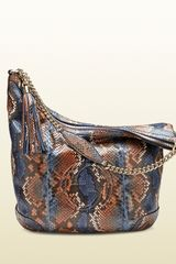 Gucci Soho Python Shoulder Bag - Lyst
